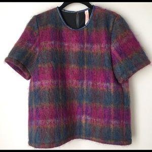 Size S Delfina Balda wool/ mohair/nylon top